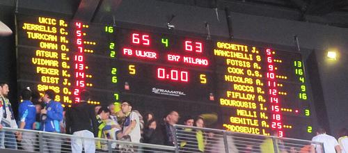 lker Sports Arena: Fenerbahe vs. Armani Milano